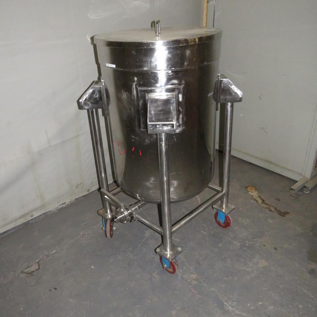 R11DB22717 Stainless steel vessel - 250 liters