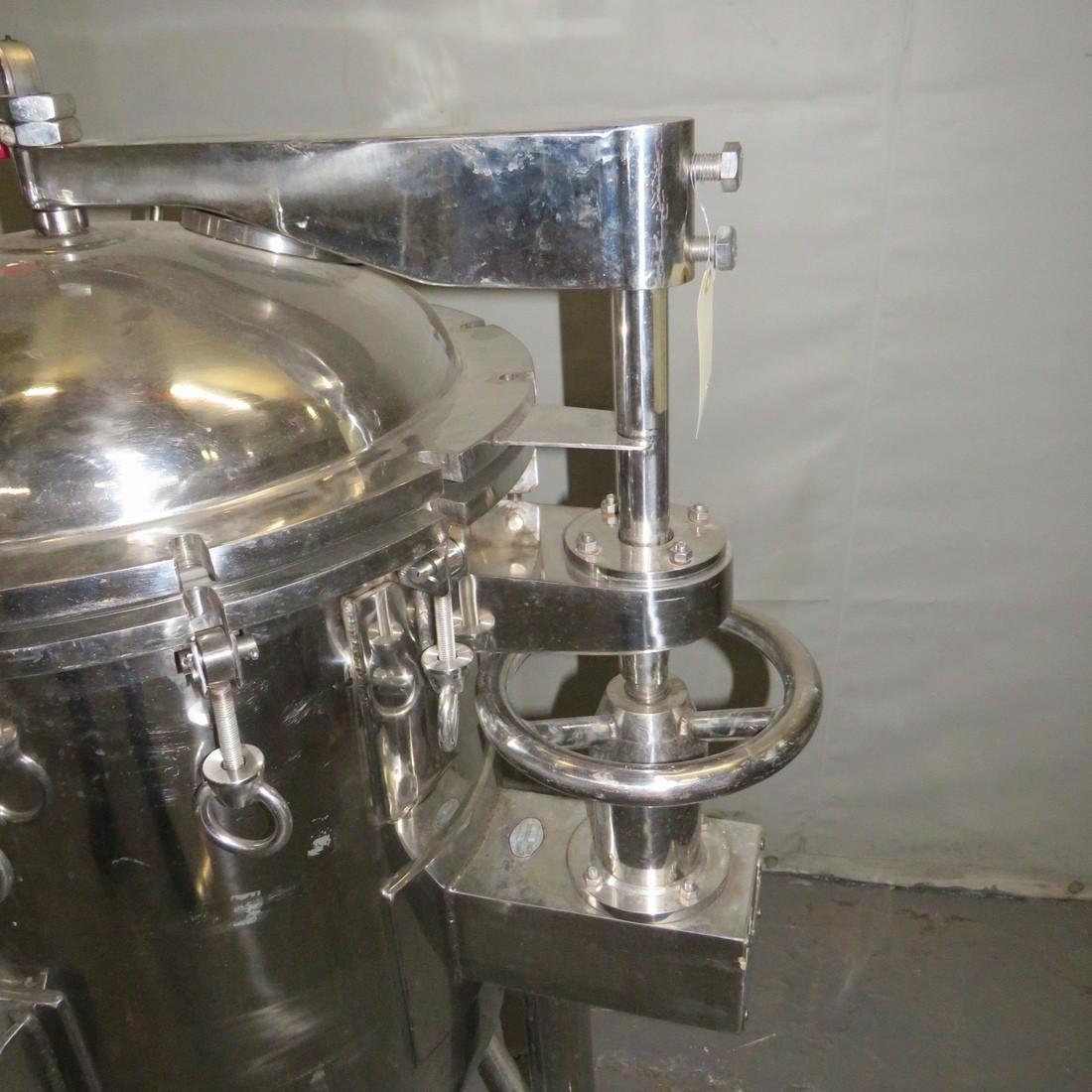 R11DB22718 Stainless steel vessel - 150 liters
