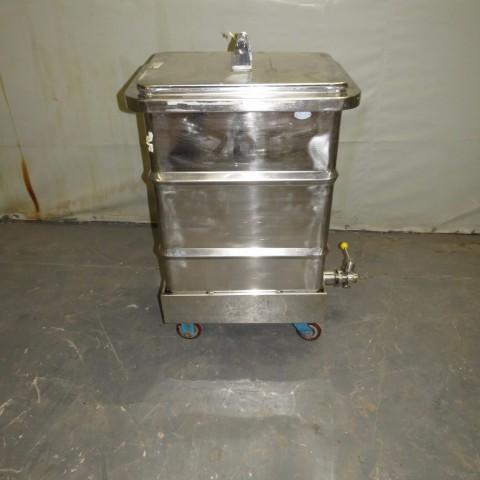 R11DB22722 Cuve de stockage en inox - 200 Litres