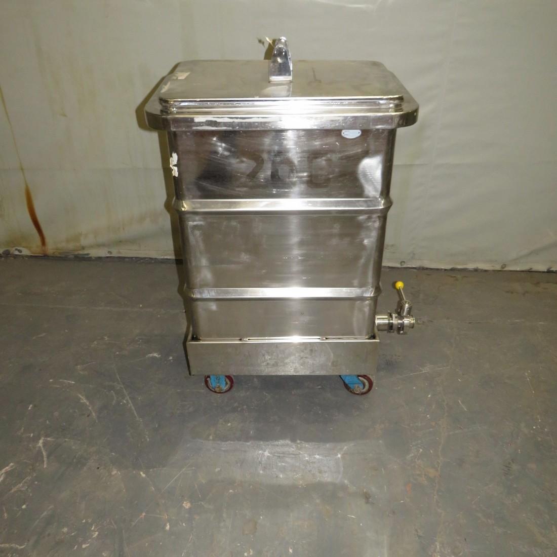 R11DB22722 Stainless steel vessel - 200 liters