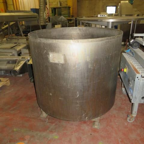 R11DB22724 Cuve de stockage en Titane SCHLUMPS WILMS - 1000 Litres