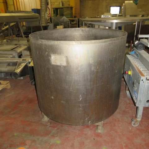 R11DB22724 SCHLUMPS WILMS titanium vessel - 1000 Liters