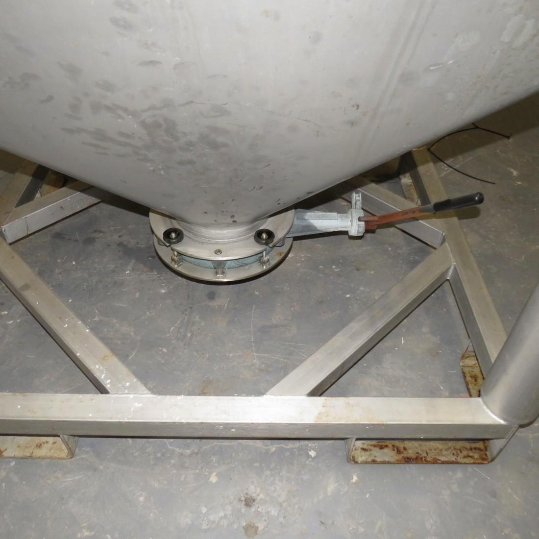 R11CB196 Container Inox BSI - 600 litres