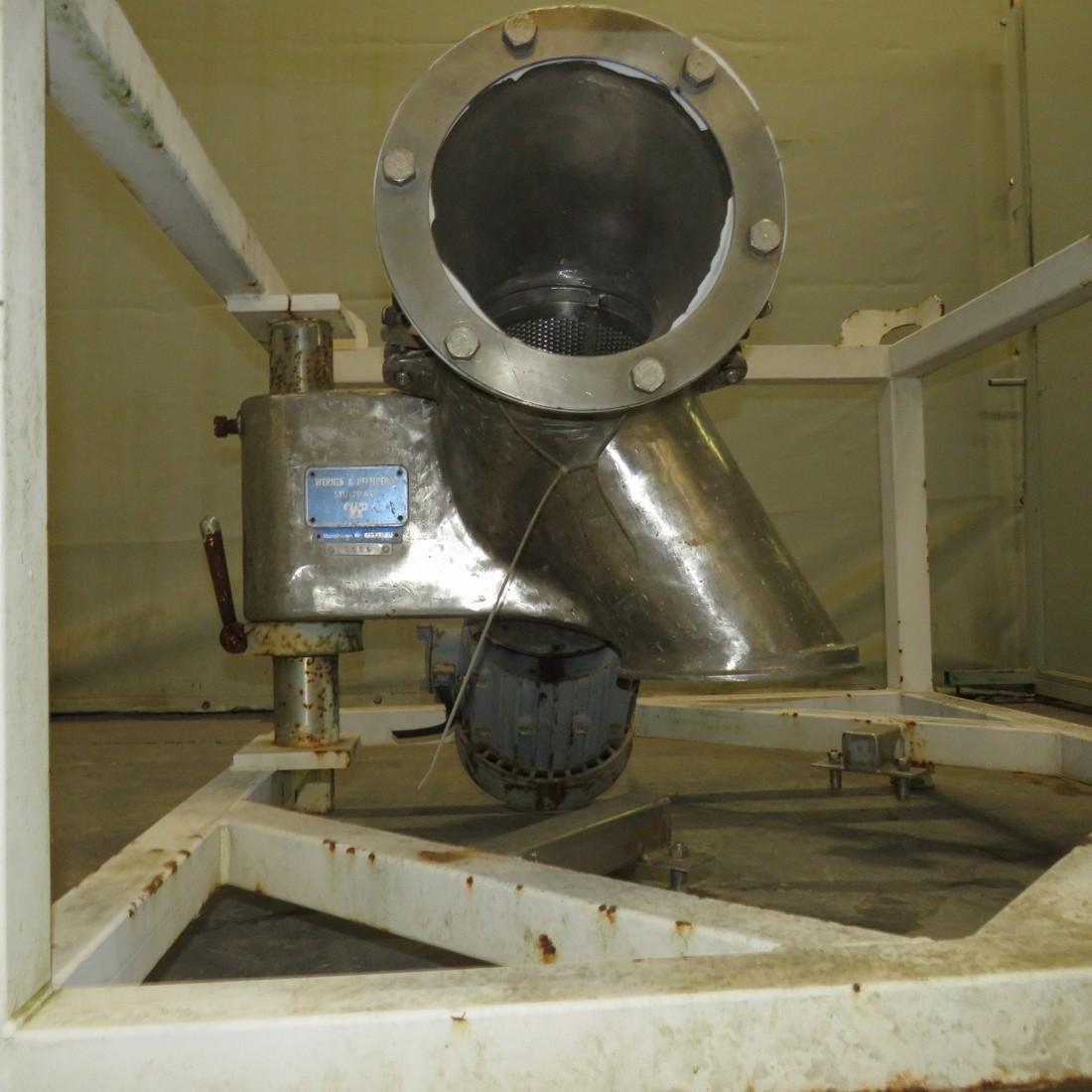 R6BZ8838 Stainless steel WERNER ET PFLEIDERER Mill