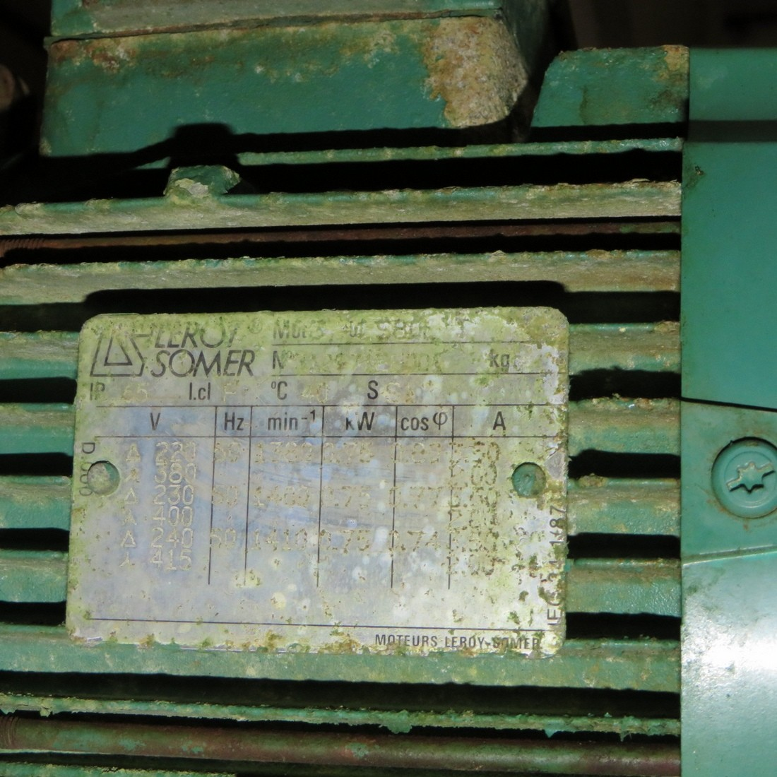 R4S1101 Vis d'Archimède Inox CORNELOUP Ø1400mm
