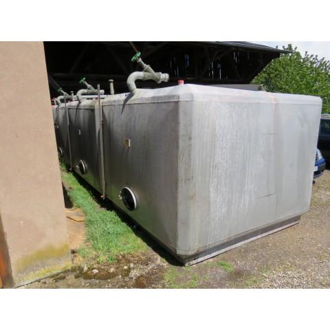 R11DA833 Mild steel SCHEIBER tank - 10000 liters - visible by appointment