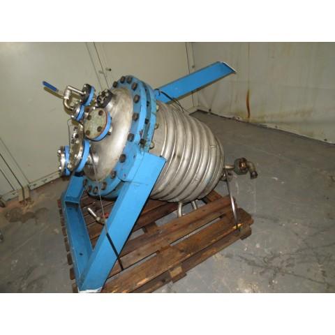 R11DB22726 Cuve de stockage en inox - 180 litres - 1/2 coquille