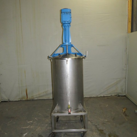 R6MA6180 Stainless steel mixing tank - 230 liters - Hp4 - Rpm3000