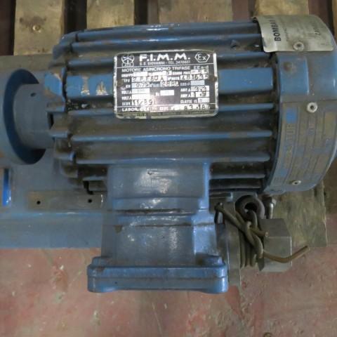 E6A10 Moteur electrique FIMM - 0.75Kw - 3000t/min