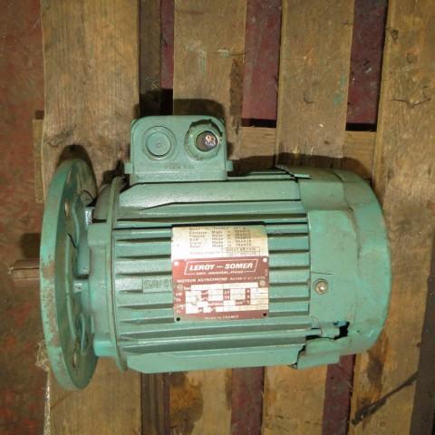 E6A11 Moteur électrique LEROY SOMER - 0.37Kw - 700t/min