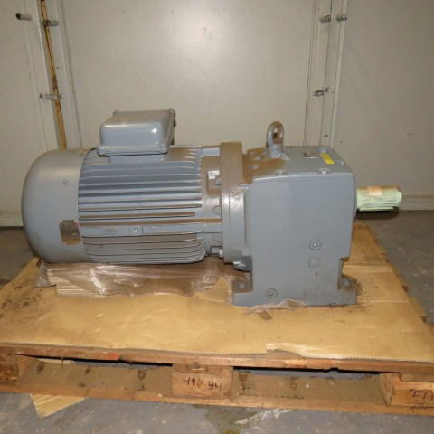 R12MF709 NORD REDUCTEUR Geared motor - Hp25 - Rpm127