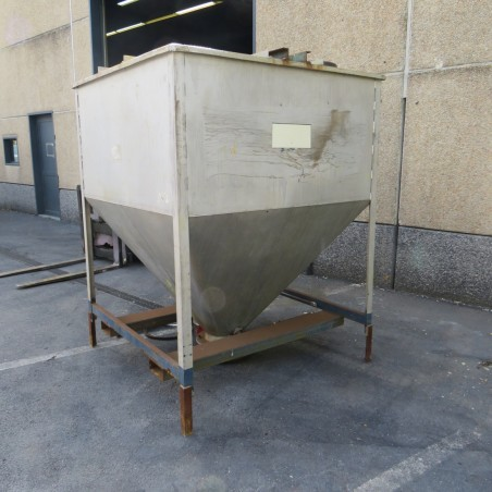 R11TB896 Stainless steel hopper - 3000 liters