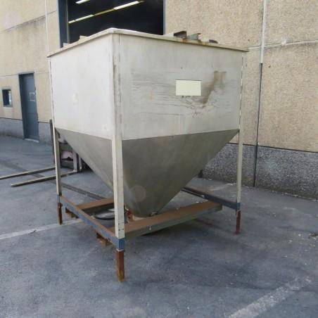 R11TB896 Trémie inox - 3000 litres
