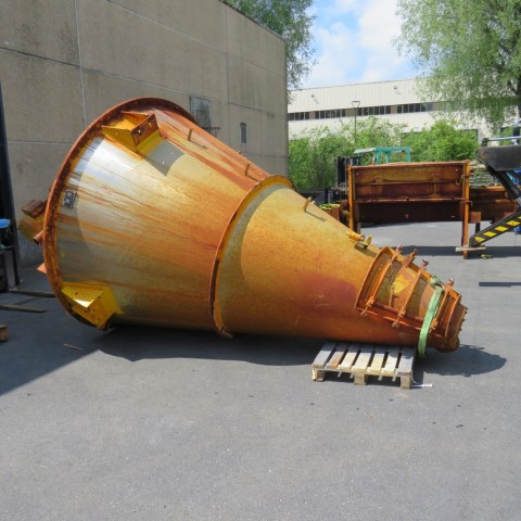R6MN1228 Stainless steel conical screw mixer - 6000 liters