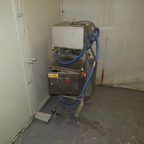 R11DB22728 Fondoir électrique rectangulaire avec pompe de cirulation GRUNDFOS - 40 litres