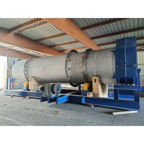 R1V1056 COMESSA new rotary Dryer - visible by appointment