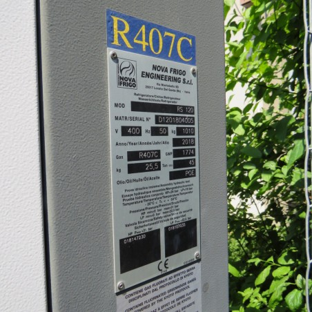 R1P727 NOVA FRIGO refrigeration unit - RS120 Type - visible by appointment