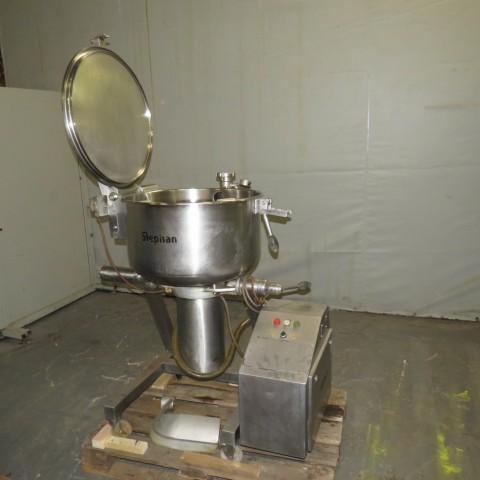 R6ME6397 Stainless steel STEPHAN vacuum mixer - 100 liters