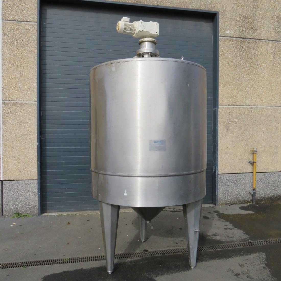 R6MA6184 APV mixing tank