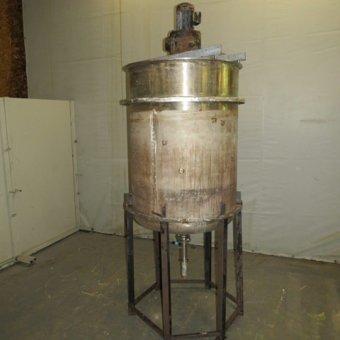 R6MA6186 800 LITERS STAINLESS STEEL MIXING TANK