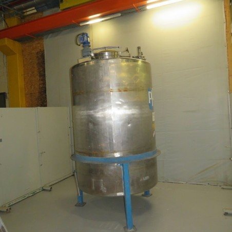 R6MA6187- 3000 L stainless steel mixing tank