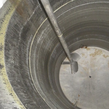 3000 L stainless steel mixing tank