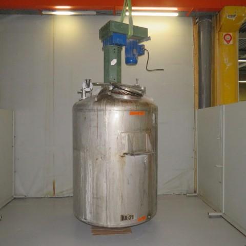 R6MA6188- Cuve mélangeuse inox
