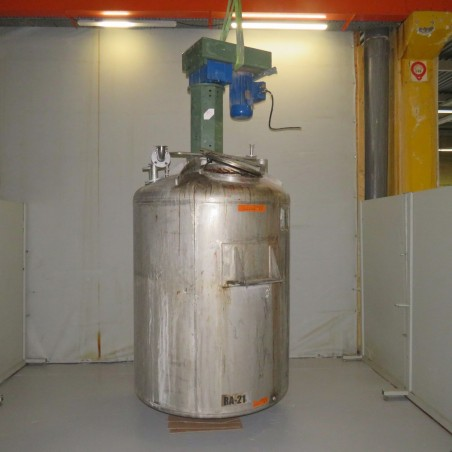 R6MA6188- Stainless steel mixing tank