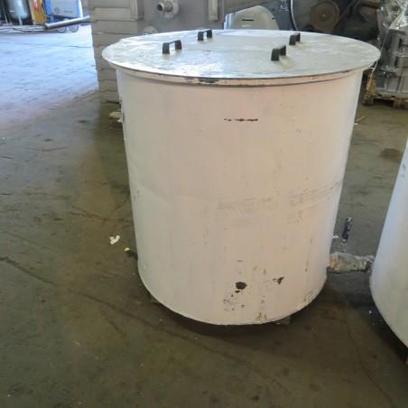 R11DB22734 - 650 L Stainless Steel Tank