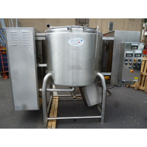 R6ME6341 Stainless steel VMI mixer 1000 litres with double jacket