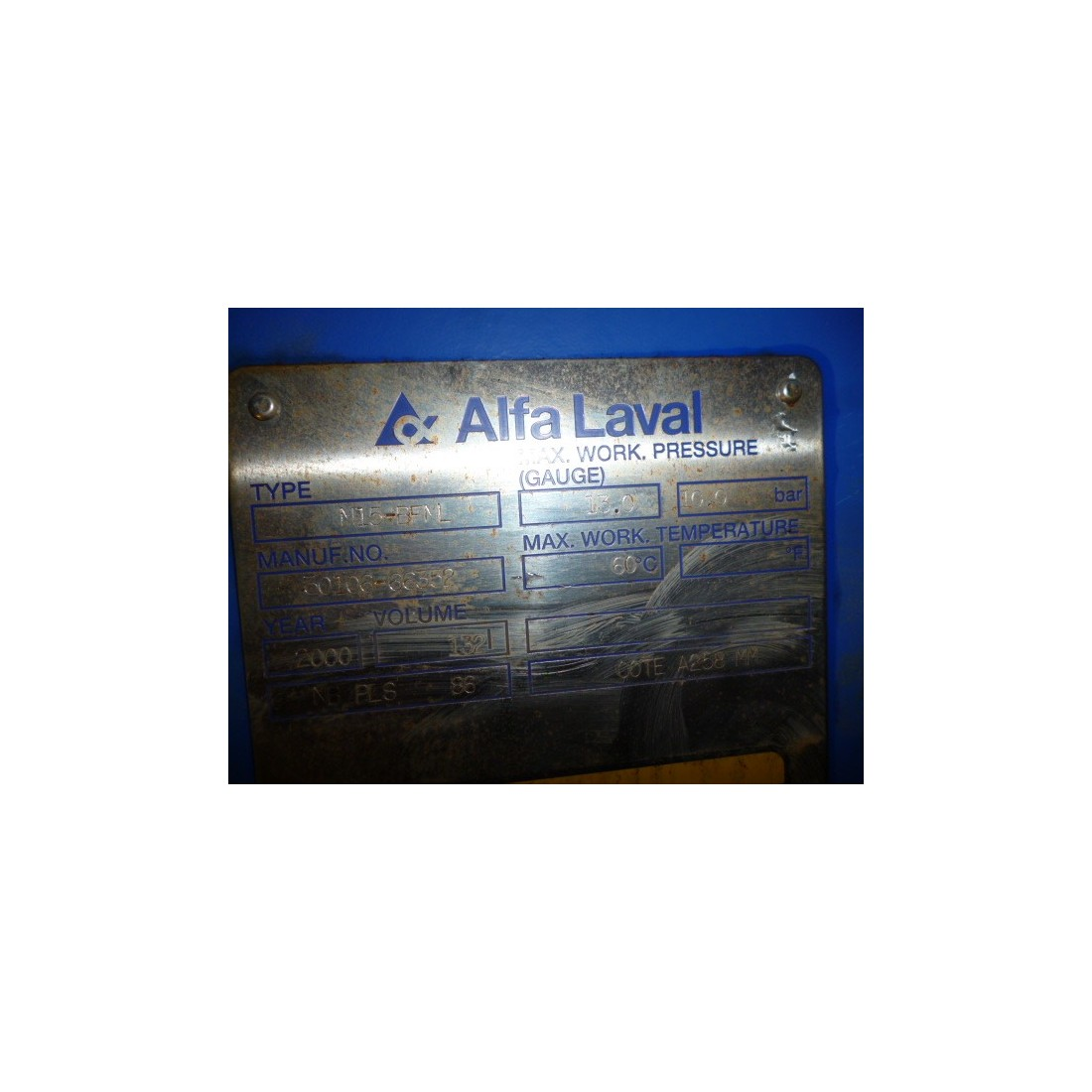 Echangeur alfa laval m15 котлы baxi промывка теплообменника