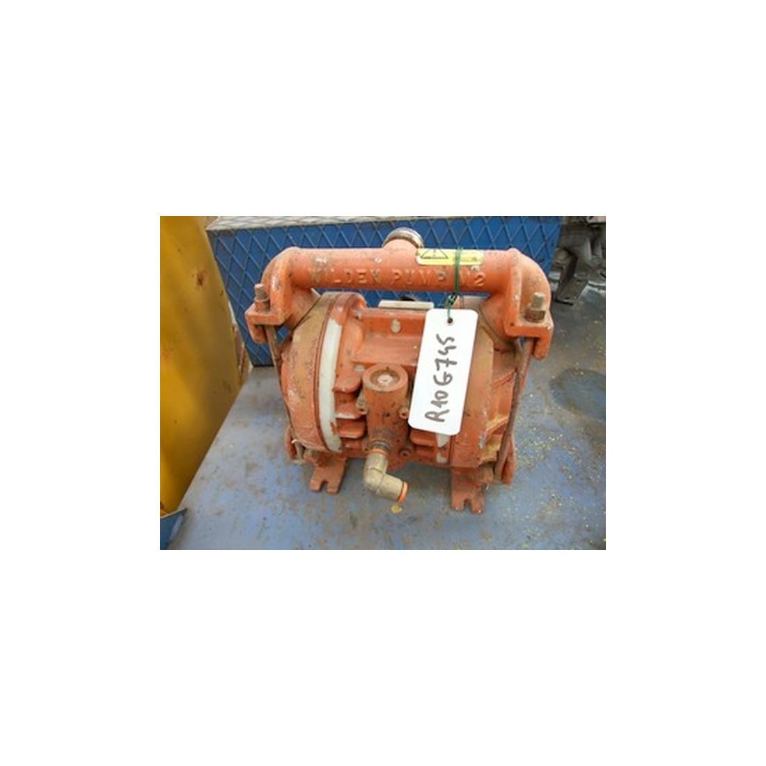 Pneumatic wilden diaphragm pump type m2 ccuart Gallery