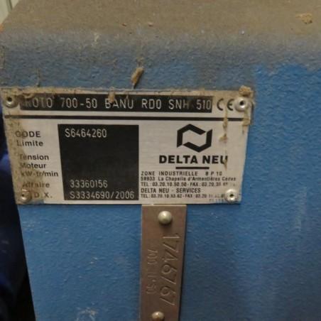 R1X1261 DELTA NEU FAN PLATE