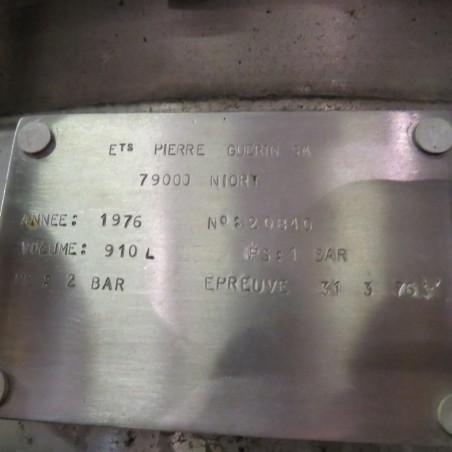 R6MA6105 cuve de mélange PIERRE GUERIN