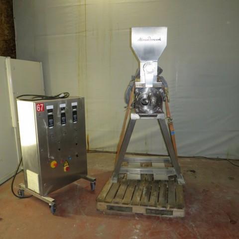 R15A1010 ALEXANDERWERK moist granulator