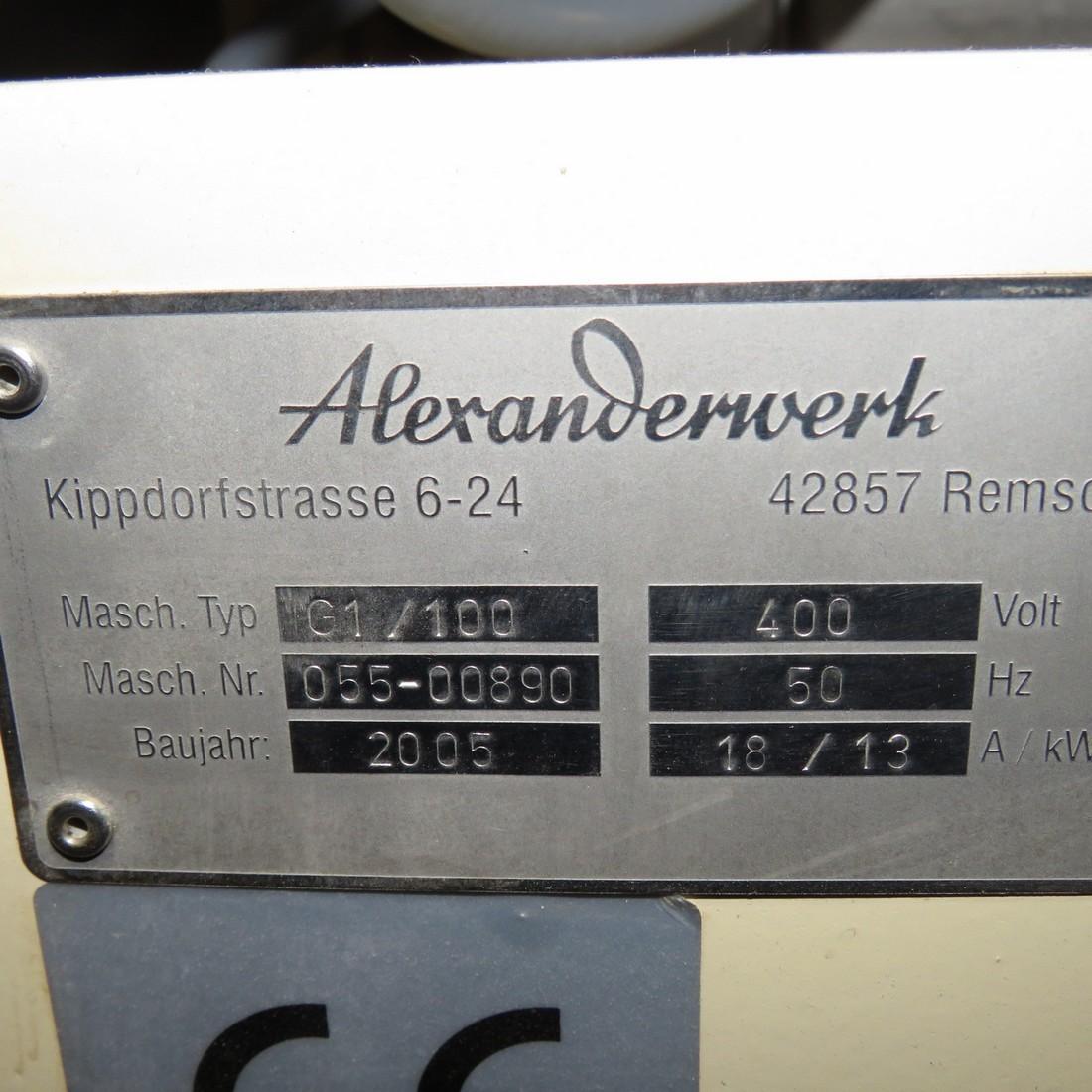 R15A1010 granulateur ALEXANDERWERK