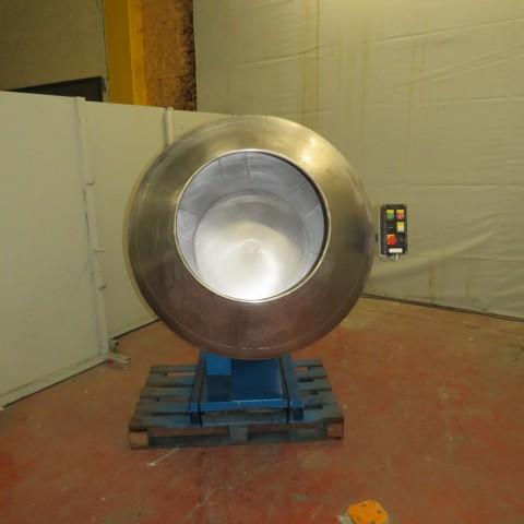 R6MT77 Stainless steel coating pan