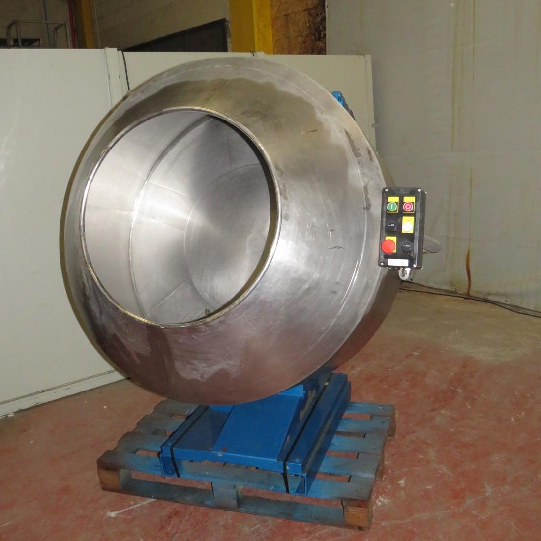R6MT77 Turbine à dragéifier inox