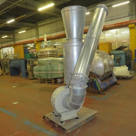 R1X1263 Ventilateur centrifuge LYSAIR type 8M 355 V RUM SPEC  4 kw- 5.5 cv