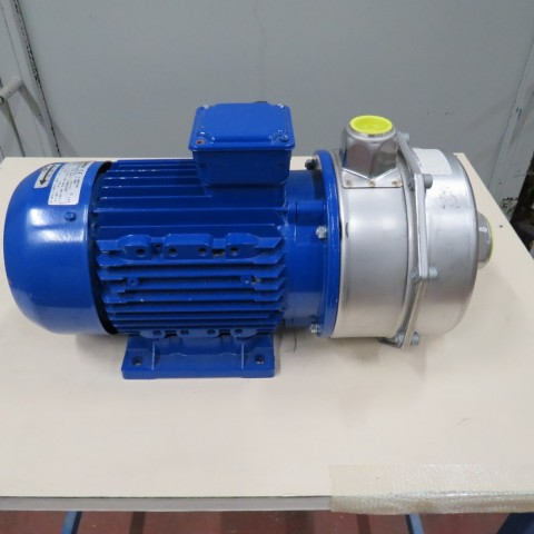 R10VA1257  Stainless steel LOWARA centrifugal pump CA 200/55 P type 3 kw - hp 4