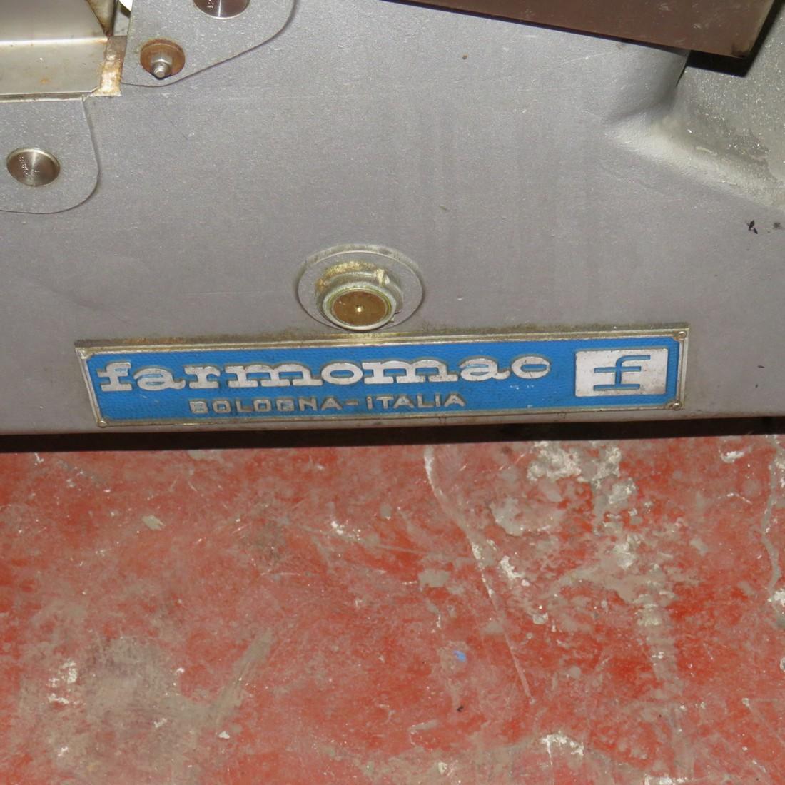 R4FB1159 Convoyeur élévateur inox FARMOMAC hauteur 1900/2050 mm