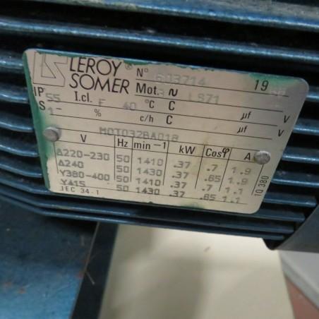 R10DE833 Pompe à lobes en inox WAUKESHA type 006 0.37 kw - 0.5 cv