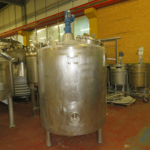 R6MA6112  Stainless steel PROMINOX mixing tank