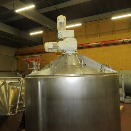 Stainless stell mixing tank 3600 litres