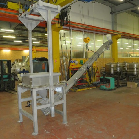 R11TA796  Stainless steel BIG BAG IGEA emptying station