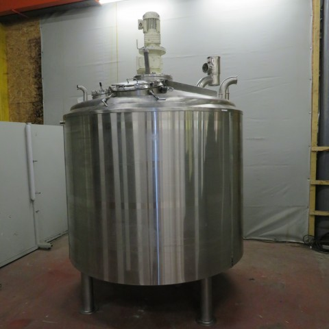 R6MA6116  Stainless steel MERLINC mixing tank- 4100 litres