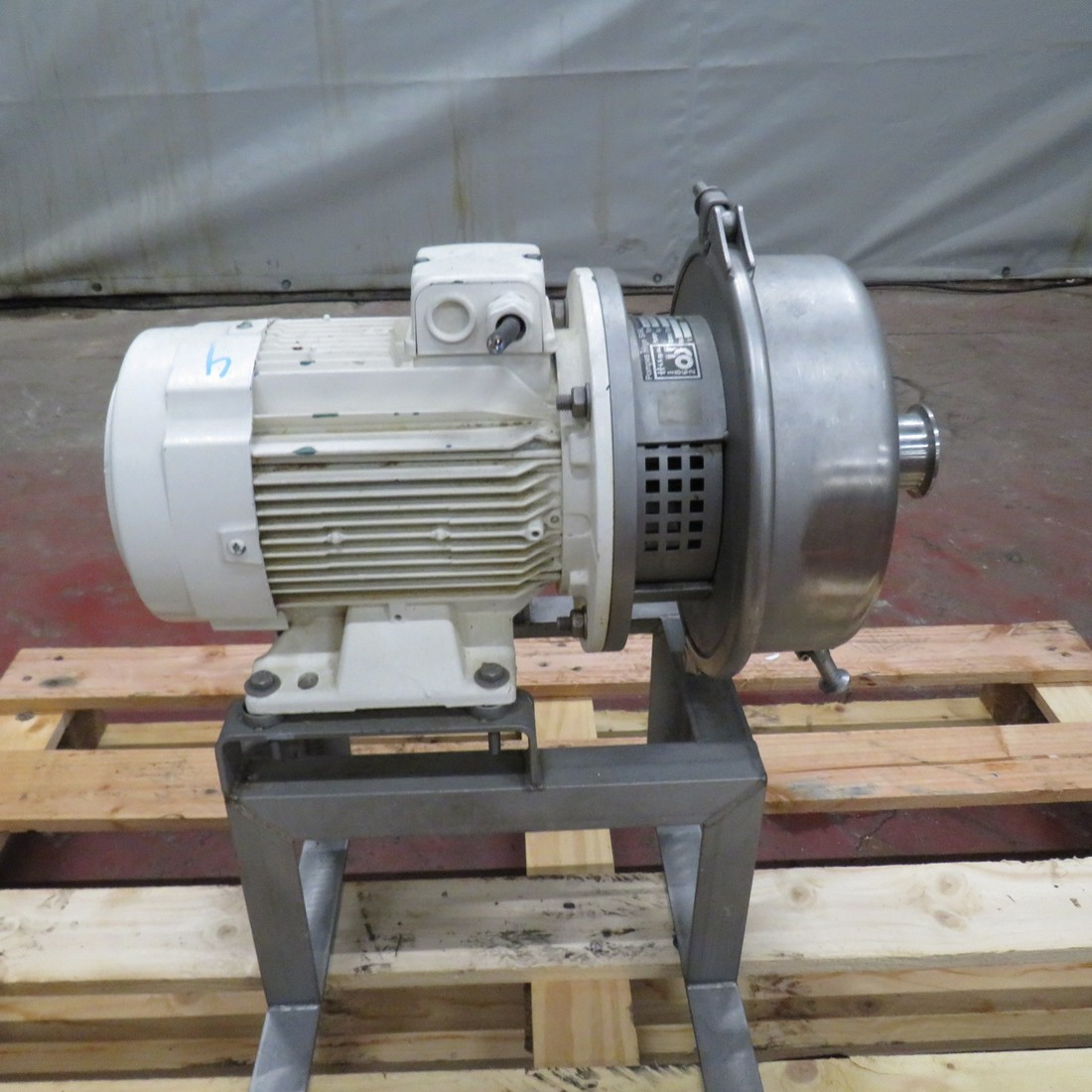 Stainless Steel Hilge Centrifugal Pump Panda Bloc Ii 30 4