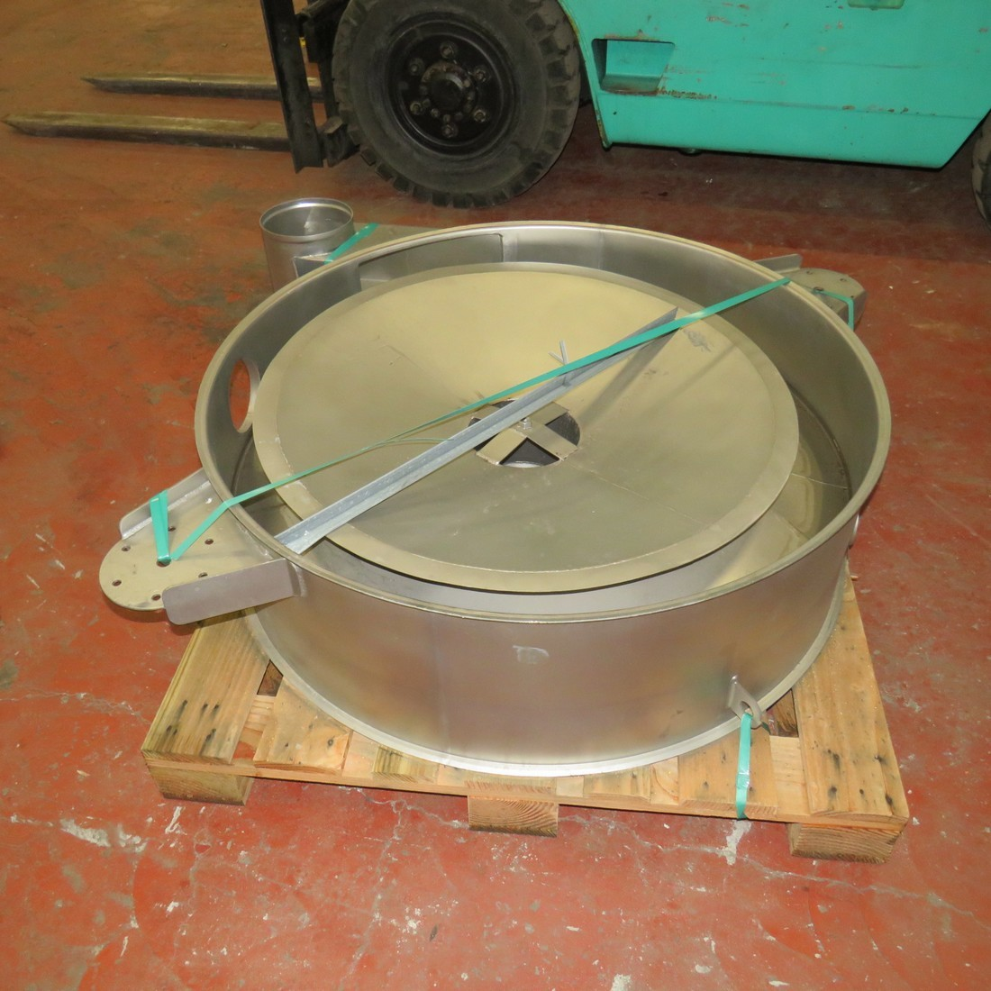 R6SA1125  Stainless steel SWECO circular sieve - S48S type -hp 2 - Ø 1 200 mm