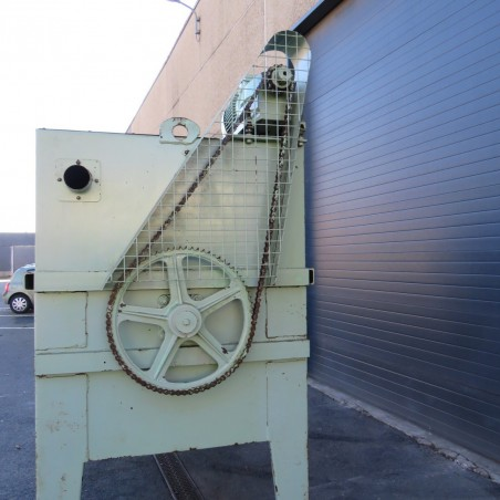 R6MK1403  Mélangeur à rubans acier TOY 3000 litres