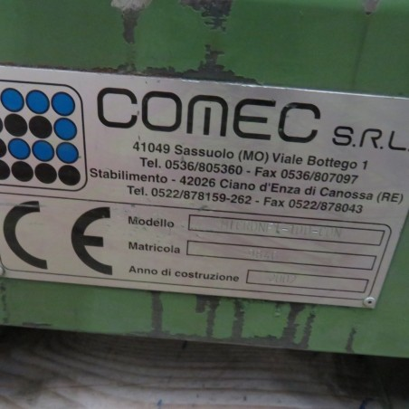 R6BF1166 Stainless steel COMEC Bead mill MICRONET - 100 - CON type